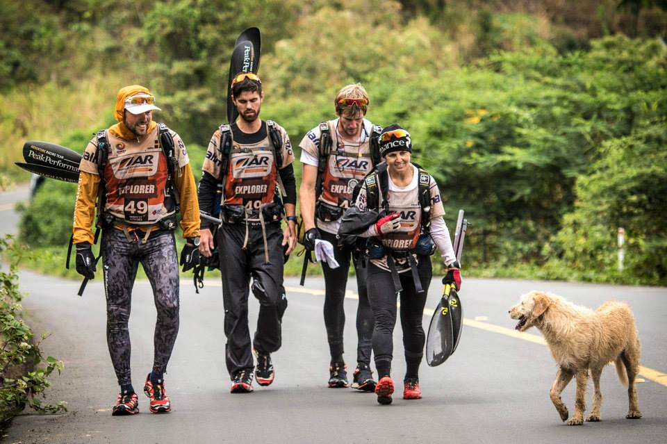 Stray Dog Follows Extreme Sports Team On Km Journey ICRT Blog - Sweden map trekking
