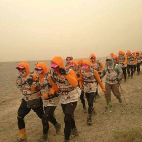 Taiwanese Business Students Complete 112-km Walk in Chinese Desert