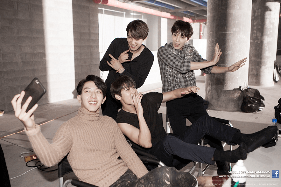 CNBLUE facebook south korean boy band pop rock