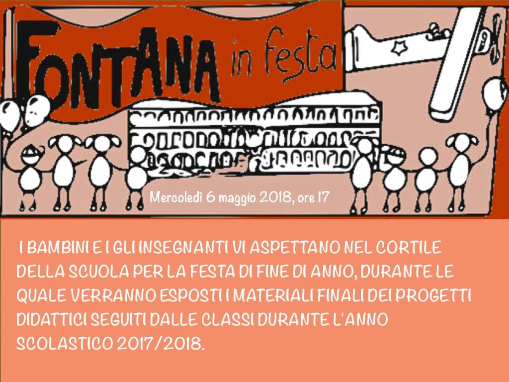 festa fine anno fontana 2018