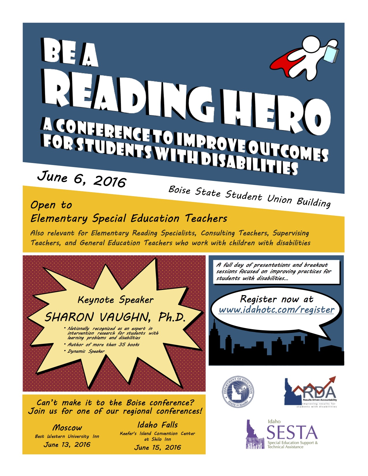 Be a Reading Hero 2016 Flyer Pic