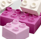 Pink + Legos = Girls