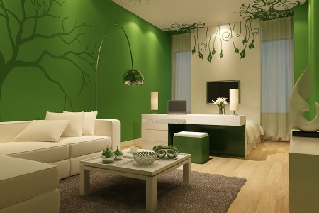 incredible modern green living room ideas