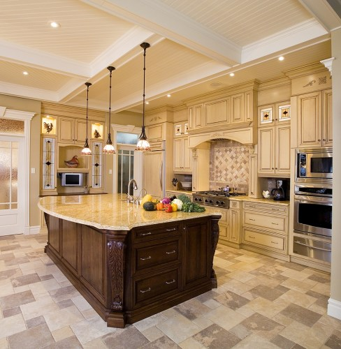 Picturesque Modern Kitchen Room with Lowes Lamps of Kitchen Ceiling Lights Fixtures