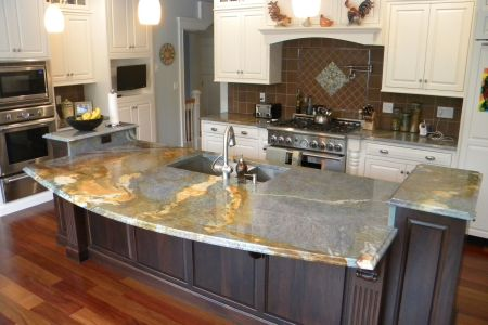 cute interior descor of lowes kitchen design ideas with cabinet and bar table
