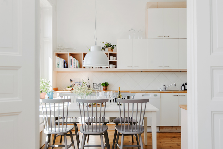 Airy Apartment in Sweden
