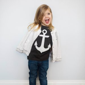 Toddler Anchor Christian Graphic Tee