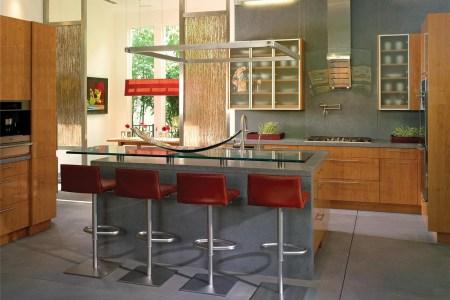 open contemporary kitchen design 2