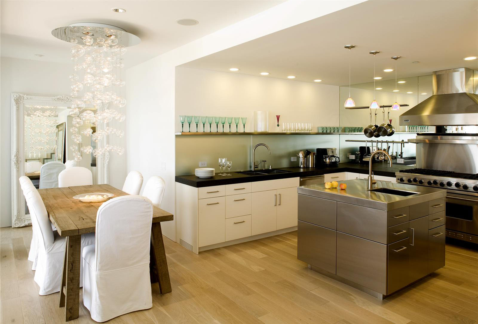 open contemporary kitchen design ideas kitchen design ideas Via Homeportfolio