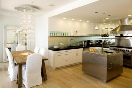 open contemporary kitchen design 3