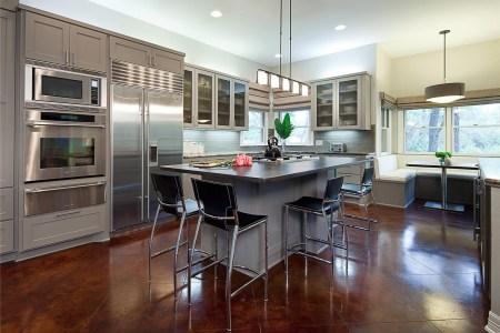 open contemporary kitchen design 6