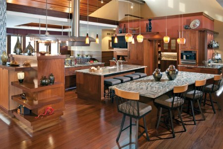open contemporary kitchen design 9