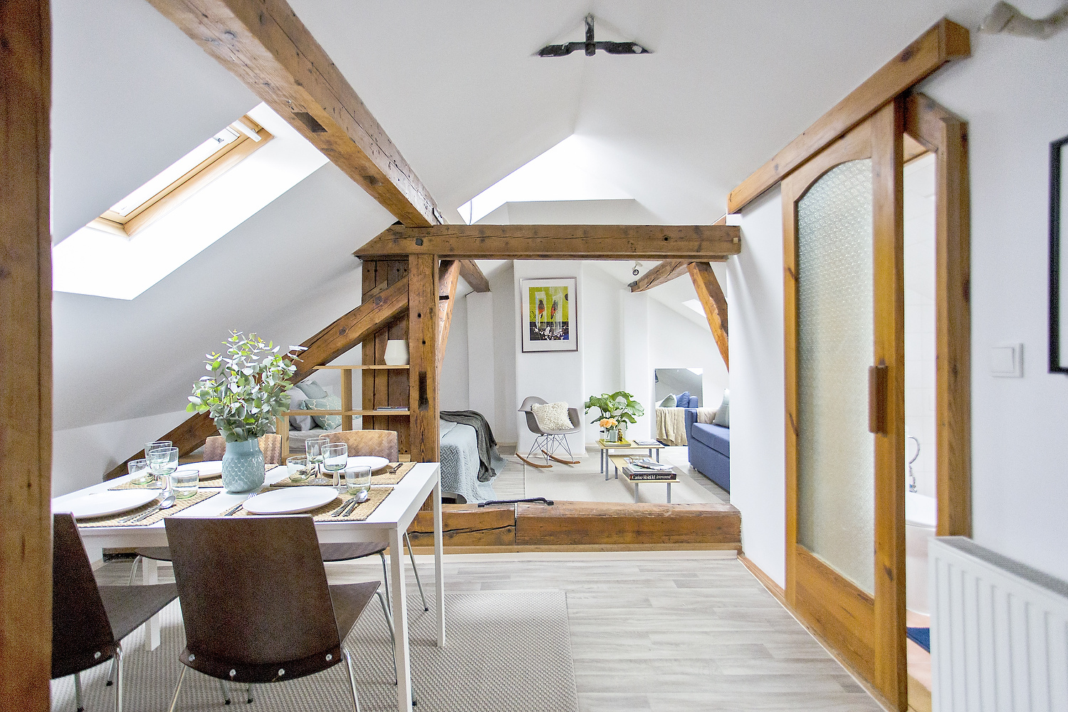 Enthralling Small Attic Studio Apartment Attic Bachelor Pad Original Wood Beams Idesignarch Bachelor Studio Apartments Ottawa Bachelor Studio Apartments Downtown Toronto apartment Bachelor Studio Apartments