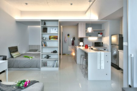 taipei studio apartment 1