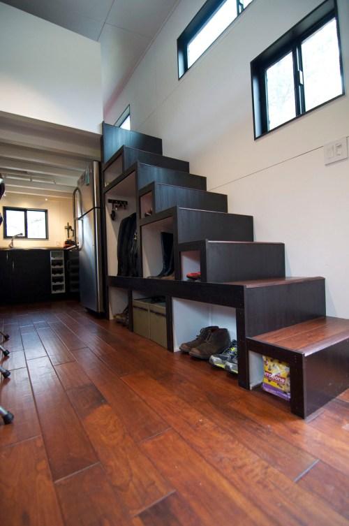Medium Of Tiny House Stairs