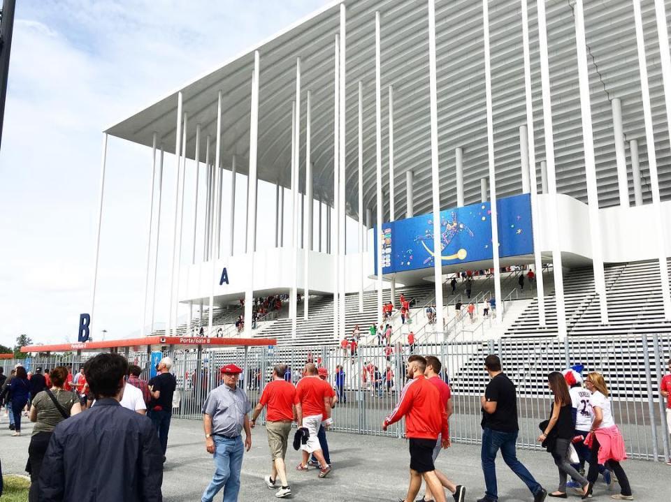 Une petite merveille darchitecture le nouveau stade de Bordeaux Trshellip