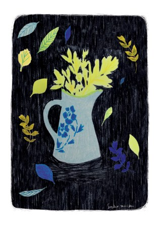 «idîle c'est bloom» Sophie Morille.