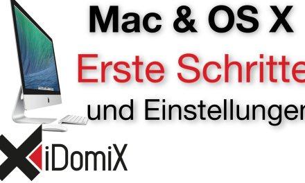 #331 Erste Schritte und Einstellungen auf einem neuen Mac Computer OS X El Capitan