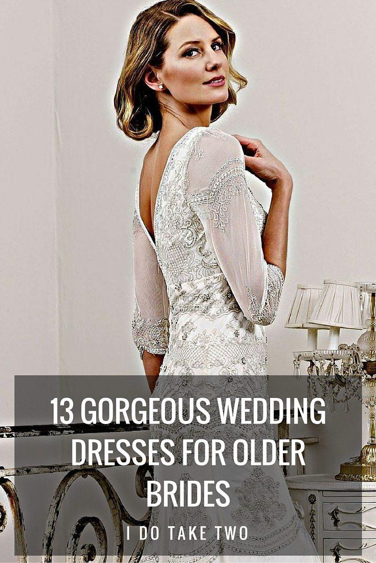 Trubridal Wedding Blog | 13 Gorgeous Wedding Dresses for Older ...