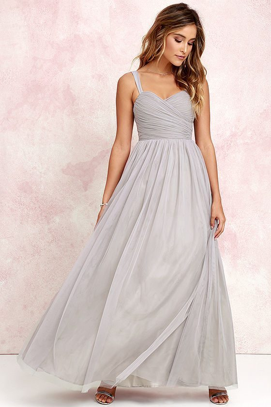 A more traditional look that will flatter a variety of brides, we're swooning for the romantic neutral tone.