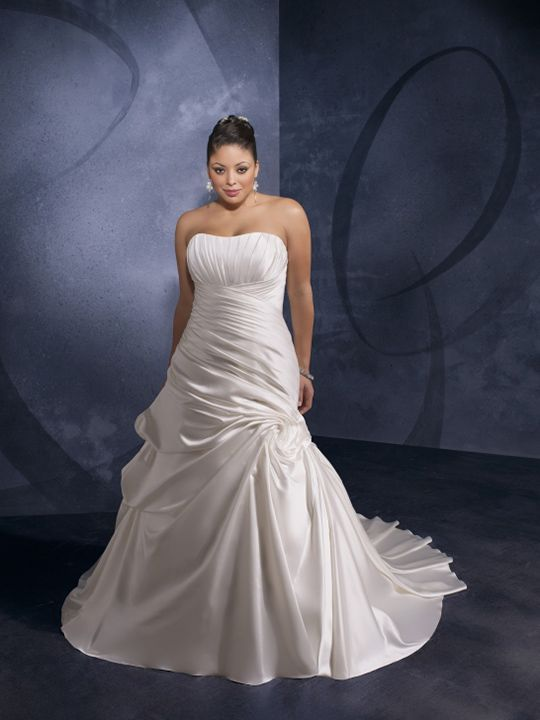 plus size bride options