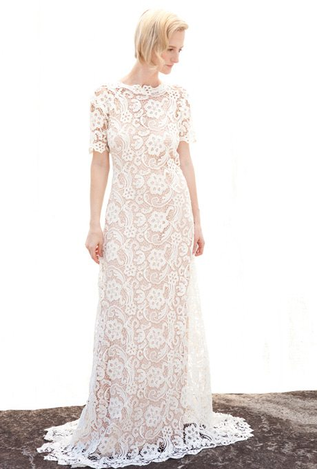 I do take two floral inspired wedding gowns for your for Appropriate wedding dresses for second marriage