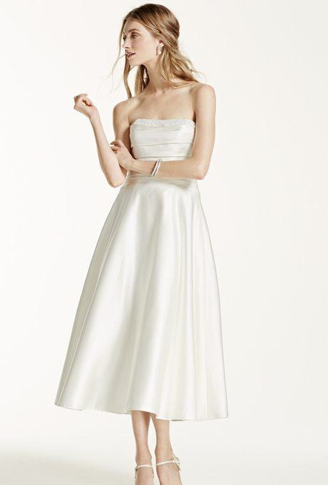 I do take two tea length beauties for older more for Tea length wedding dresses for older women