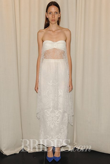I do take two ankle length wedding gowns perfect for the for Second time around wedding dresses