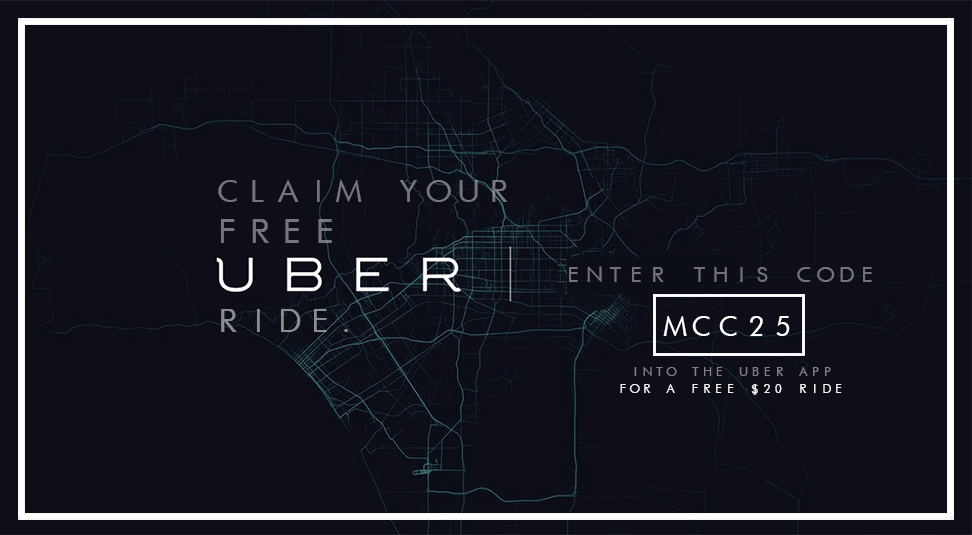 Uber Promo Code mcc25, Claim your free ride