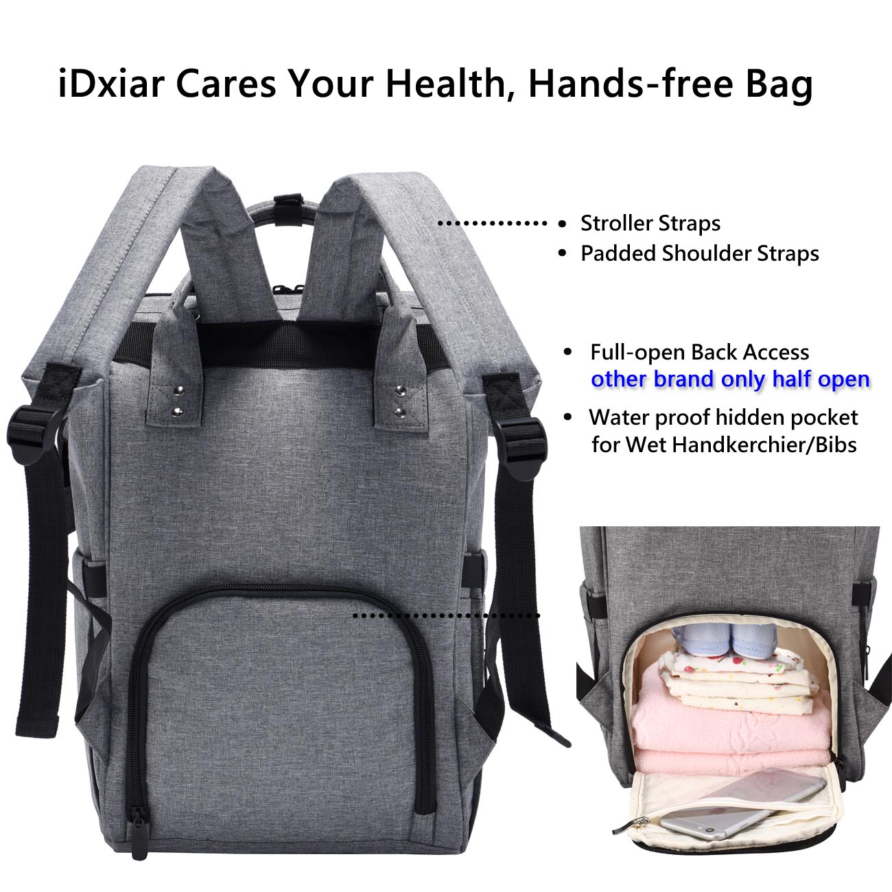 Fullsize Of Diaper Bag Backpack
