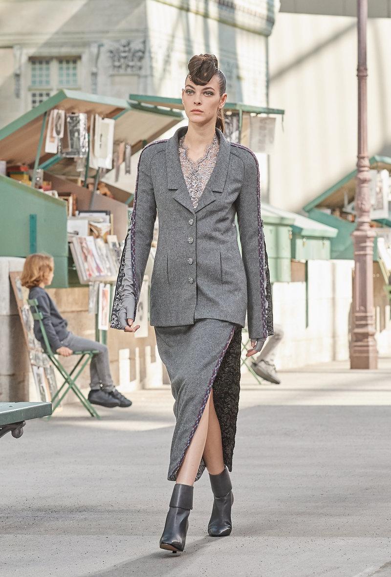 Φερμουάρ, το στοιχείο φετίχ στα ρούχα του επόμενου χειμώνα, κατά την Chanel