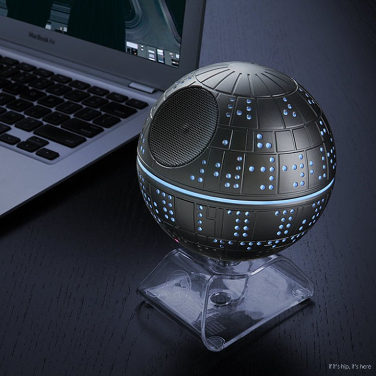 star wars death star speaker in use IIHIH