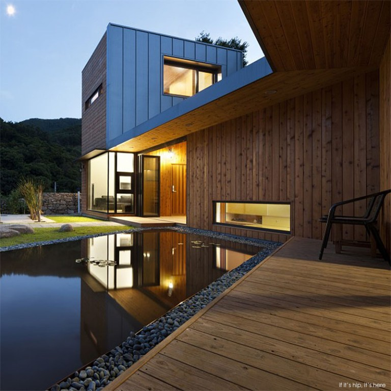 Modern south korean home design is based on feng shui principles if