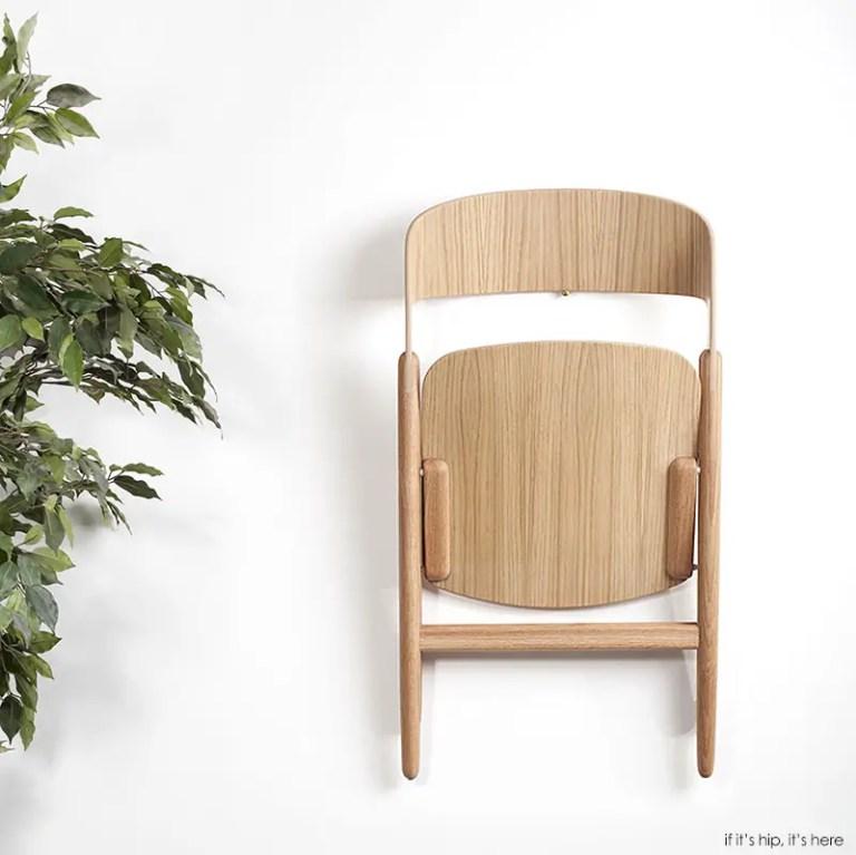 Wooden Folding Chair by David Irwin 14 ICFF 2015 IIHIH