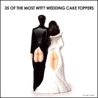 35 WTF Wedding Cake Toppers