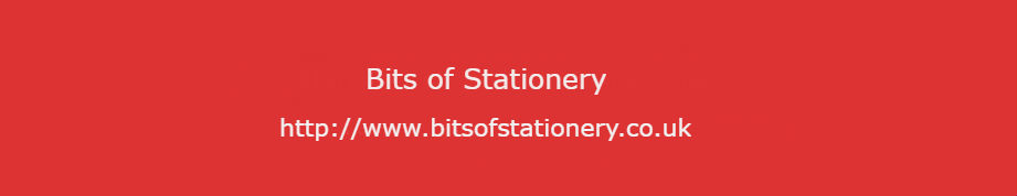 Bits of Stationery Goes Live