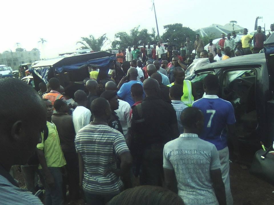 Trailer kills police in owerri7
