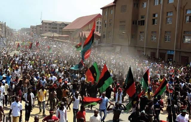 IPOB biafra protest