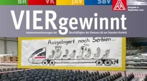 Siemens VIERgewinnt – Ausgabe 11|September 2017