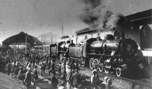 1921 - Il passaggio della salma del Milite Ignoto