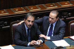 Roma -Discorso del Presidente del Consiglio Silvio Berlusconi alla Camera dei Deputati sulla crisi politica