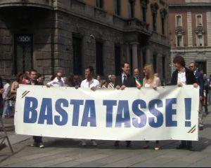La manifestazione dei sindaci Pdl tenutasi il 12 maggio a Monza