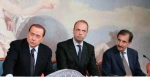 Berlusconi, Alfano, La Russa
