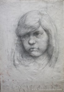 portrait_girl_pencil