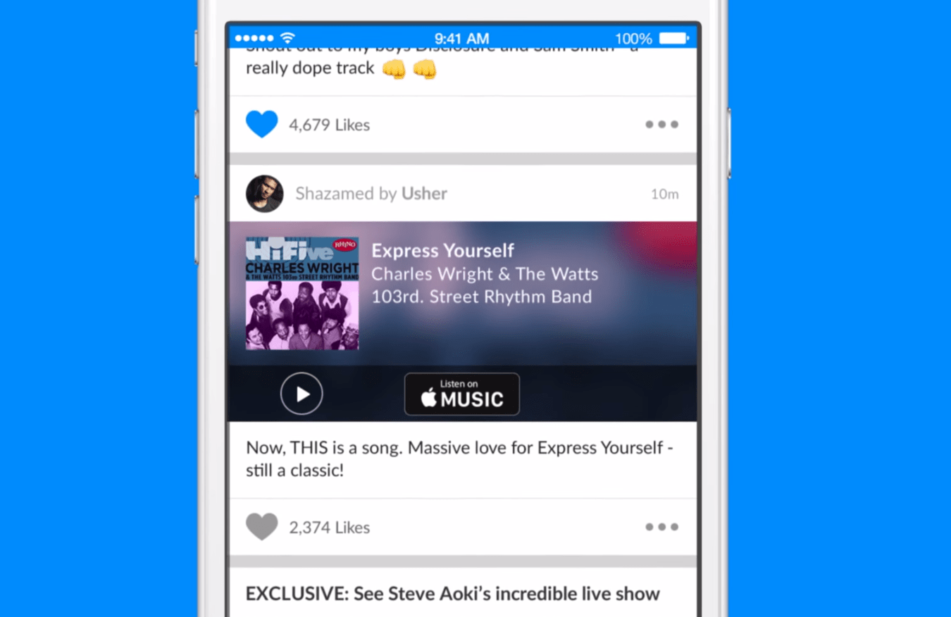 Check What Your Favorite Artists Are Listening to With Shazam's Newest Update