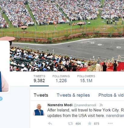 Modi Twitter Profile