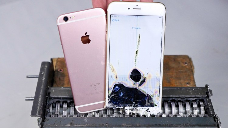 Paper Shredder vs iPhone 6S – Can You Shred an iPhone?