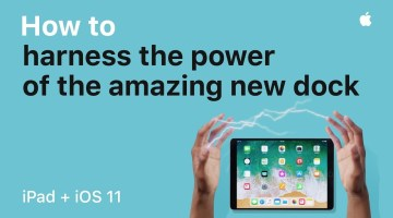 iPad — How to harness the power of the new Dock with iOS 11