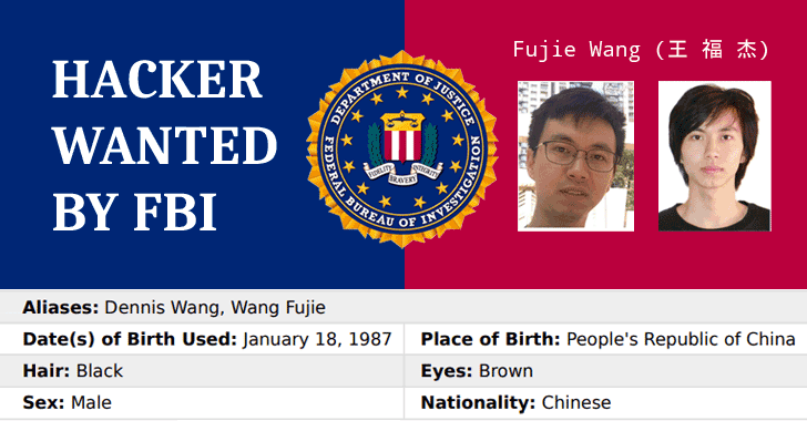 chinese hacker wanted by FBI for anthem data breach