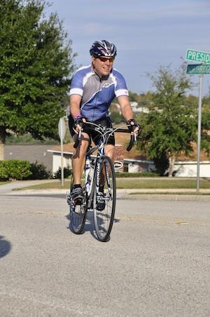 Freddie on a bike ride!